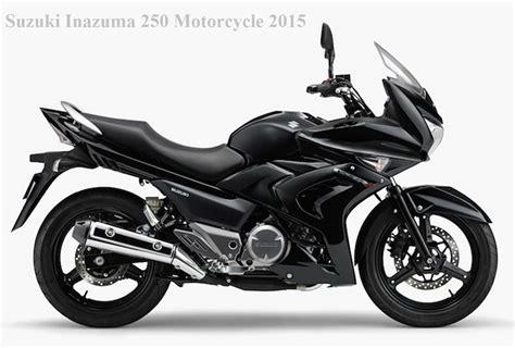 Suzuki 250 Inazuma Suzuki Inazuma 250 Motorcycle 2015 Black Bikes Doctor