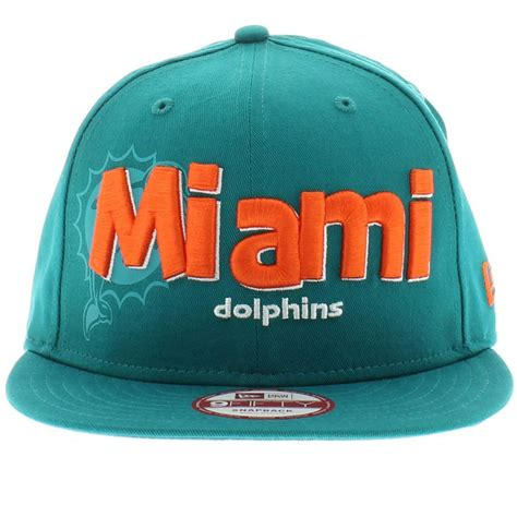 dolphin colors miami dolphins team colors the dough word snapback 950