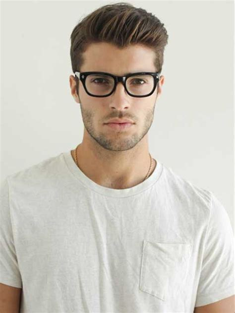Haircuts For Guys With Glasses by 20 Stylish Hairstyles For Mens Hairstyles 2018