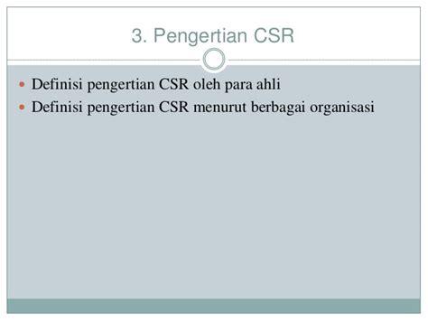 Corporate Social Responsibility Transformasi Konsep Dwi Kartini implementasi corporate social responsibility pada ptpn xiii