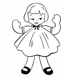 coloring doll doll coloring pages bestofcoloring