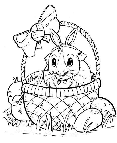 guinea pig coloring pages free printable guinea pig coloring page high quality coloring pages