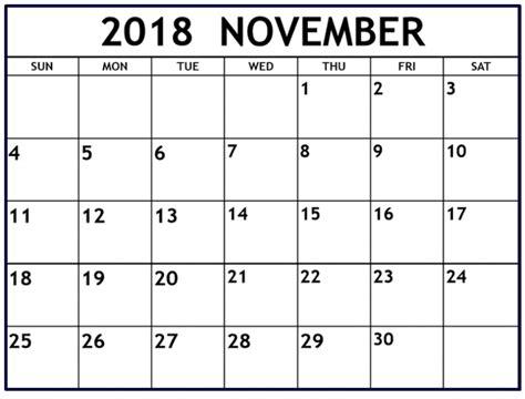 november 2017 calendar editable november 2018 calendar canada pertamini co