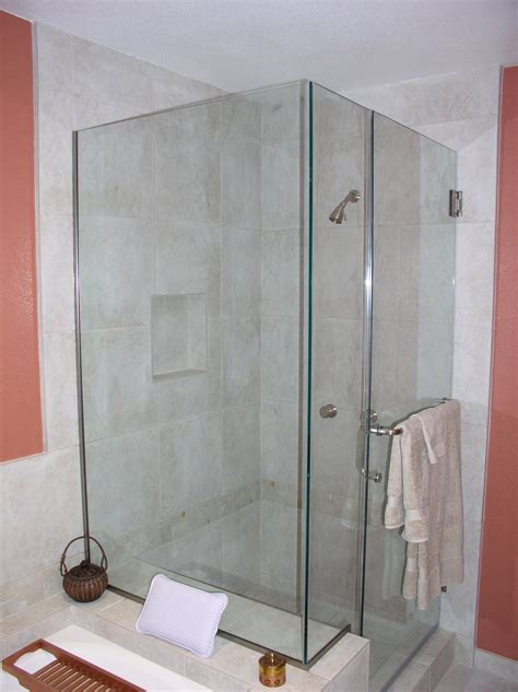 Shower Into Bathtub by Bathtub Conversion To Custom Shower Stall Kitchens