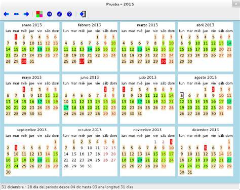 calendario menstrual para linux