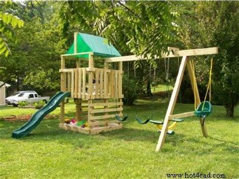 home built swing set free wooden playset swing set plans woodwork city free