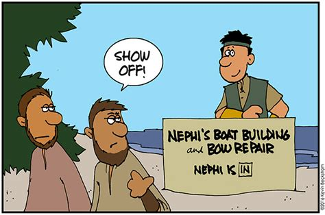 cartoon boat builder cartoon nephi boatbuilder meridian magazine