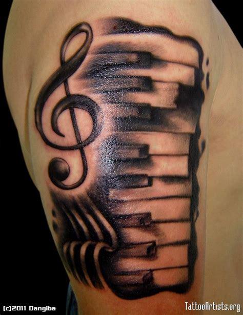 piano keyboard tattoo designs 20 piano tattoos on sleeve