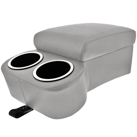 carbon fiber bench carbon fiber silver bench seat cruiser console