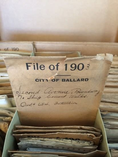 City Of Seattle Records History At Our Preserving The Ballard Sidewalk Mosaics 4culture