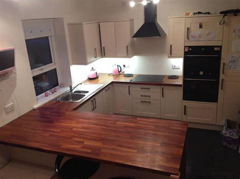 Breakfast Bar Work Top by Customer Kitchen Wooden Worktop Gallery Page 2 Worktop