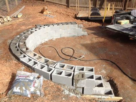 How To Build A Beautiful Fire Pit In Your Backyard Using How To Build A Pit In Your Backyard
