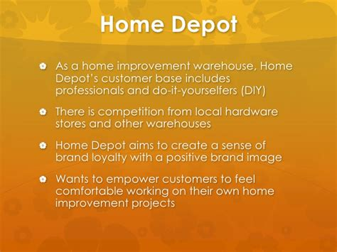 home depot marketing plan home depot marketing strategy