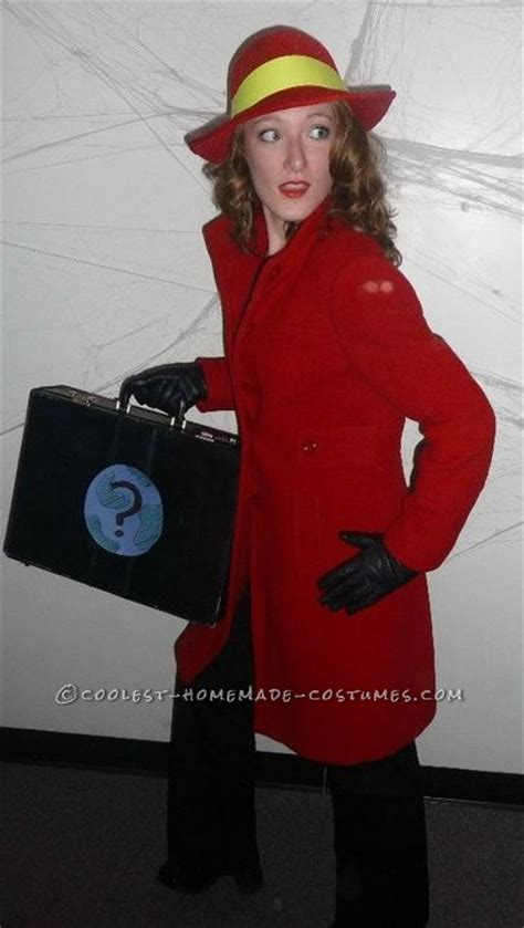 awesome  easy carmen sandiego costume