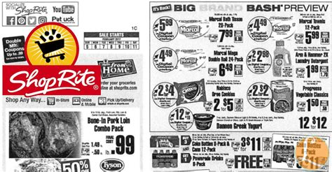 shoprite printable shopping list shoprite preview ad for the week of 2 5 17living rich with
