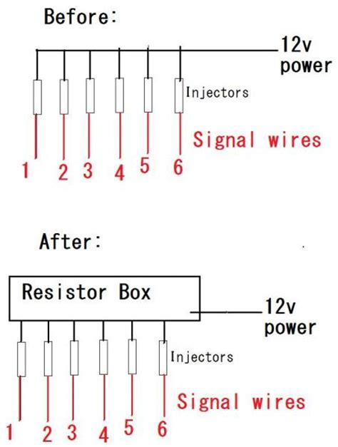 resistor wiring direction injector resistor box wiring clublexus lexus forum discussion
