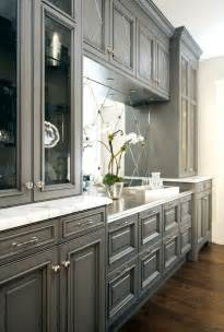 Gray Kitchen With White Cabinets by Trove Interiors Falling For Grey Kitchens