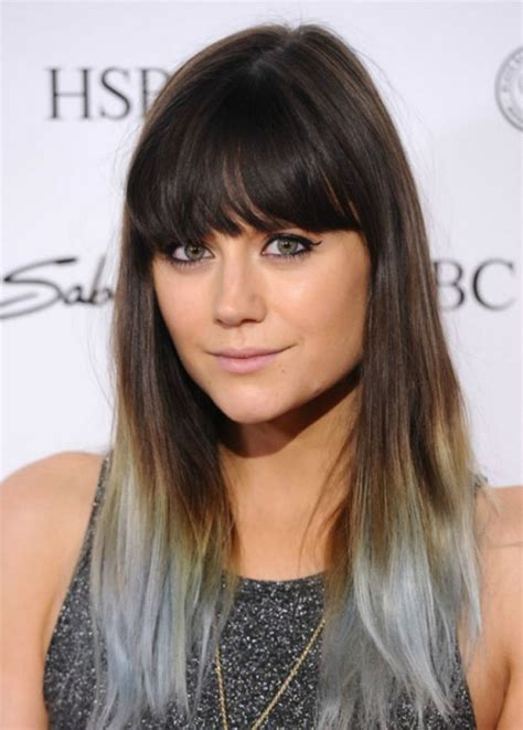 hairstyles to hide dip dyed ends 14 dip dyed ends could you rock granny hair these grey