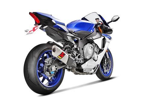 Yamaha R1 2015 Aufkleber by Akrapovic Unveils Evolution Line Kit For The 2015 Yamaha