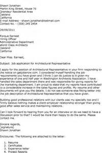cover letter for architecture firm architecture internship application cover letter