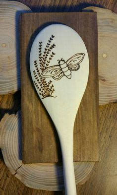 Pyrography Spoons 365 Days Of Crafts Inspiration - how to make a wooden ring geeky things a