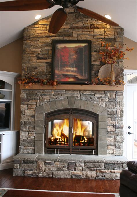 Can I Burn Wood In Gas Fireplace by Indoor Outdoor Wood Fireplace See Thru Fireplaces Acucraft