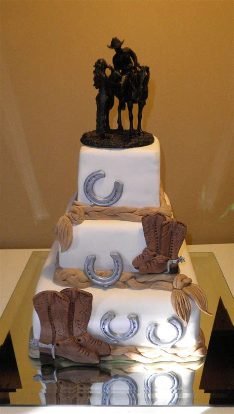 western themed quinceanera cakes country wedding cake love the topper in the future