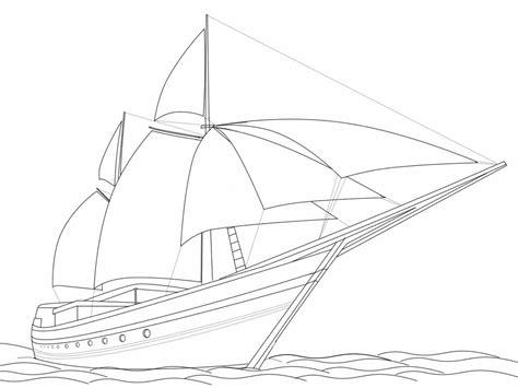 gambar mewarnai kapal laut