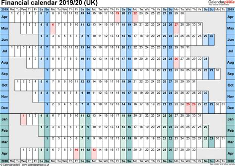 financial calendars 2019 20 uk in pdf format