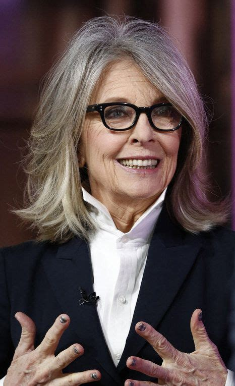 Diane Keaton Hairstyles by Diane Keaton Cabelo Novo Diane Keaton