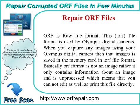 format file orf orf repairquickest way to recover lost or deleted orf photos