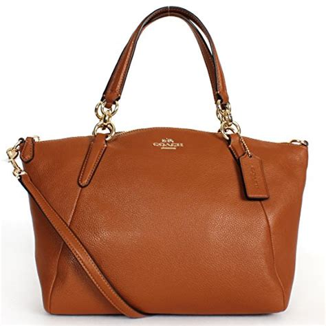 Promo Tas Branded Coach Small Kelsey Gold Tas Coach Original Nwt Ns coach f36675 pebble leather small kelsey satchel saddle f54272 accessorising brand name
