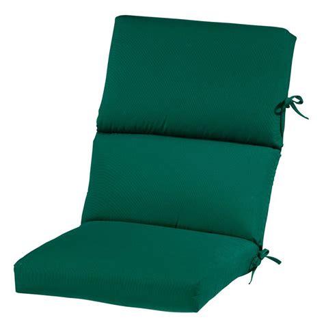 Green Outdoor Chair Cushions   Balck And White Adirondack