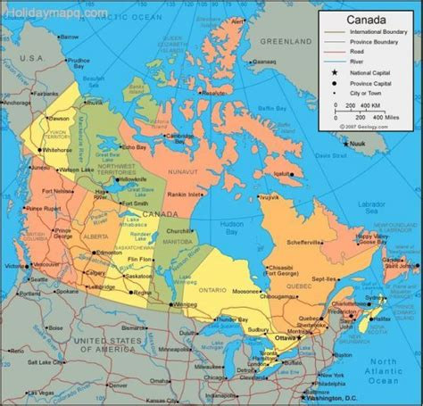map of canada and usa with cities map of usa and canada holidaymapq