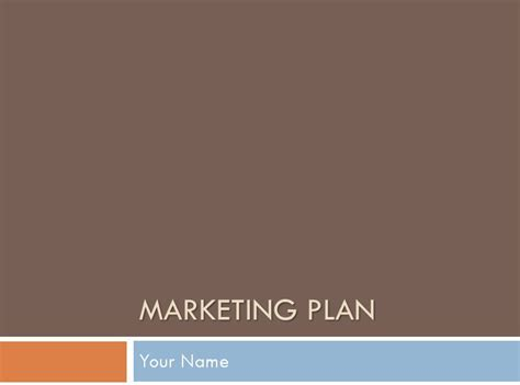 marketing presentation template marketing plan presentation template marketing plan