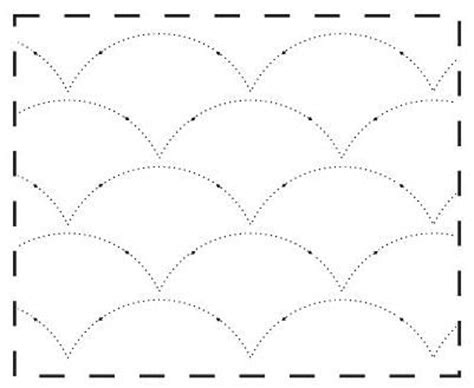 Printable Free Motion Quilting Templates