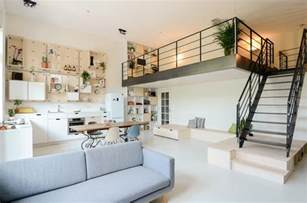 studio loft apartments school building converted into modern family loft