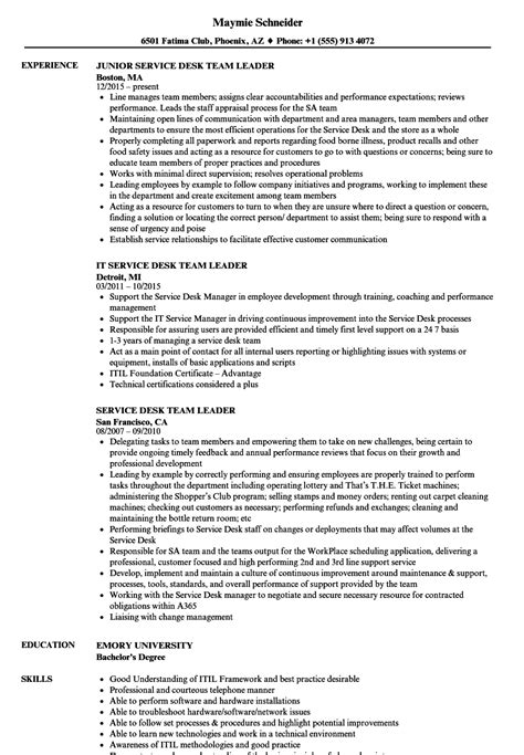 sle cover letter for leadership position software development team leader resume exle qa team