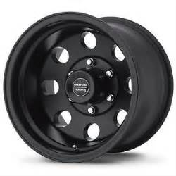 Chevy Truck Wheels Black 17 Inch Chevy Silverado 1500 K1500 Truck 17x8 Black Rims 6