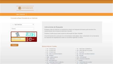 impuesto de vehculos 2016 finanzas eltiempocom impuesto veh 237 culos 2016