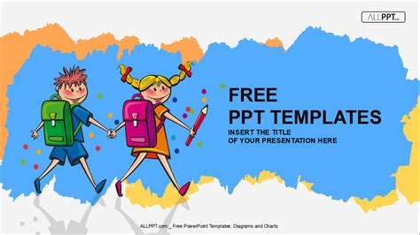 cartoon templates for powerpoint free download 50 free cartoon powerpoint templates with characters
