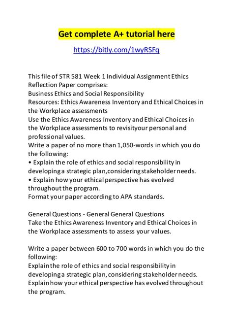 role of ethics and social responsibility in developing a strategic plan while considering stakeholde Define and explain the role of ethics and social responsibility in developing a strategic plan while considering stakeholder needs and agenda.
