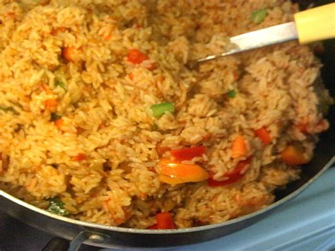 and rice food jollof rice with a twist afrolems food