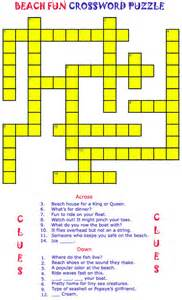 Fun printable crosswords for kids welcome to the rice n three