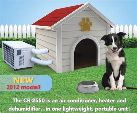 temperature controlled dog house dog house air conditioner by climate right free shipping