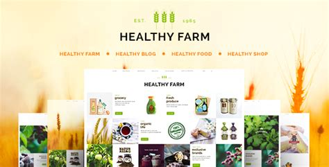 theme wordpress agriculture free healthy farm food agriculture wordpress theme by