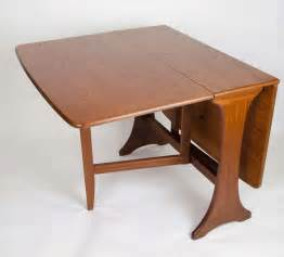 Drop Leaf Breakfast Table G Plan Mid Century Modern Dining Table Drop Leaf Makers Label Circa 1950s For Sale At 1stdibs