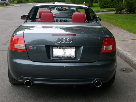 Audi Cabrio S4 by 2004 Audi S4 Cabriolet Pictures Information And Specs