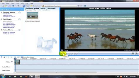 windows movie maker tutorial for beginners windows movie maker effects tutorial youtube
