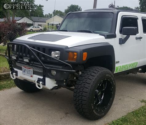 2009 hummer h3 moto metal mo962 country leveling kit